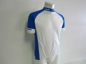Verge Men's 3XL Short Sleeve Cycling Jersey Blue/White New