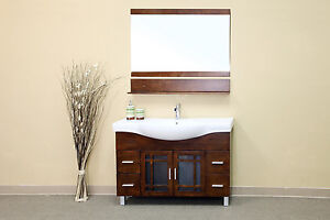 48 in Single Sink Vanity- Solid Wood-Walnut - *** FREE SHIPPING ***