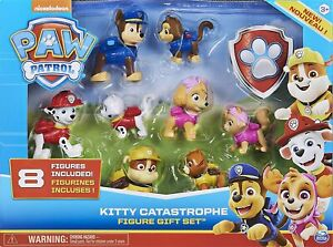 Spin Master 6058524 PAW Patrol Chaos-Kätzchen Geschenkset 8 Figuren ab 3 Jahren