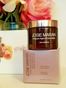 Josie Maran Whipped Argan Oil Face Butter  UNSCENTED 1.7 oz NIB