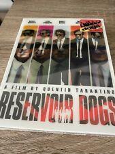 New Reservoir Dogs Nova Media Lenticular Full Slip Blu-ray (Numbered 516/1200)