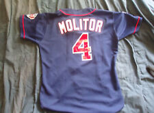 1997 Paul Molitor Game Used Jersey  Twins  LOA Vintage Authentics Lou Lampson