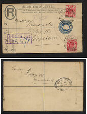 Transvaal  uprated postal envelope to Cape Town 1911         AT0525
