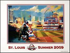 "Malcolm Farley ""St. Louis Summer"" Poster Baseball All Star Game '09 Make Offer!"