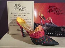 Just The Right Shoe Passions Flame