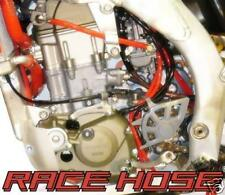 HONDA CRF 250 CARB FUEL ENGINE RAD WORKS HOSE KIT RED