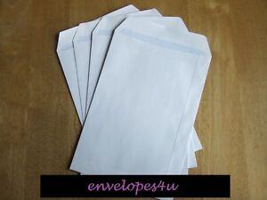 C5 / A5, C4 / A4 Plain White Self Seal Envelopes 90gsm Non Window