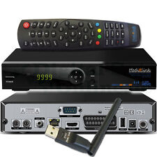 ► Medialink SmartHome Multimediabox 1CR FullHD COMBO Receiver HEVC ML6500 + WLAN