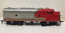 Vintage Bachmann Item No 0513 Chrome Santa Fe Emd F9 Diesel Model Trains