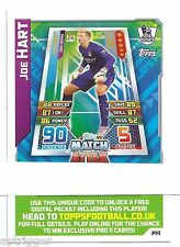 2015 / 2016 EPL Match Attax Live (P14) Joe HART Manchester City