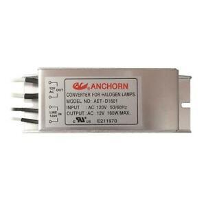 NEW Anchorn Electronic Halogen Low Voltage Transformer, 12V 160W Evrosvet