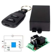 433 MHz DC 12V Wireless 1CH RF Transmitter Remote Control Switch+ RF Relay JS