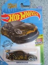 Hot Wheels 2021 #058/250 Porsche 935 avec Bleu Capot @ Gh Neuf Fonte Long Carte