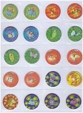 Pokemon 2 - Complete set of 100 GOOD CONDITION Tazos Pogs Tasos Caps Chips Taps
