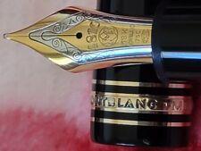 Montblanc Meisterstuck 149 Diplomat Gold, 18K Nib M - Fountain Pen Ex Condition