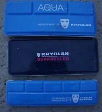 LOT KRYOLAN Aqua Color MakeUp Face Paint Palette Stage 5044 1147 1108 1108K H