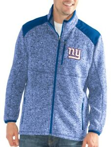 "New York Giants NFL G-III ""Back Country"" Full Zip Men's Sweater Jacket"