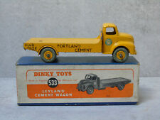Vintage Dinky 533  Leyland Cement Wagon  Yellow  Boxed Original