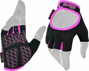 EVO Fitness Women Weight Lifting Gym Gloves Workout Ladies Exercise Cycling
