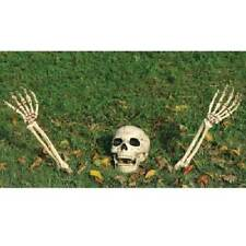 Buried No More Skeleton Lawn Ornament Kit Halloween Prop Life Size Haunted House