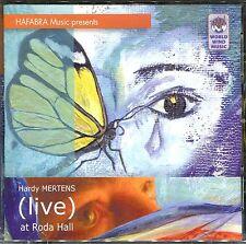 HARDY MERTENS (LIVE) AT RODA HALL - AUDIO CD - HAFABRA MUSIC PRESENTS