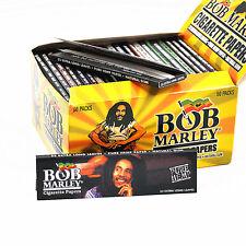 50 Booklet BOB MARLEY King Rolling Paper 110mm Pure Hemp Cigarette Smoking Paper
