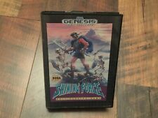 Shining Force Authentic Original OEM Sega Genesis Case and Cover Art Insert Only