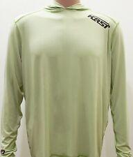 Kast Extreme Fishing Gear Ronin Hooded Sun Shirt Sage Green Size Medium NWT