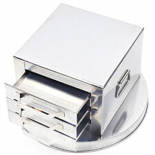 3 Layer Stainless Steel Steamer, Drawer Food Steaming Rice Noodle Rolls Cooker