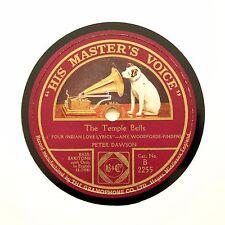"""PETER DAWSON """"The Temple Bells / Less Than The Dust"""" (E+) HMV B-2255 [78 RPM]"""