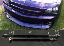 "Black 8""-11"" Struts Shock Rod Bar for Honda Acura Bumper Lip Diffuser Spoiler"