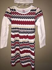 Gymboree New size 4 dress penguin Holiday striped girls