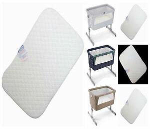 Microfibre Hypoallergenic Crib Mattress Fit Next to Me Chicco Crib & BabyLo Crib