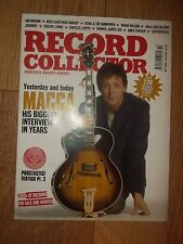 RECORD COLLECTOR MAGAZINE OCTOBER 2005 ISSUE: 315 SUPERGRASS ANDY BUNNYMEN BRIAN