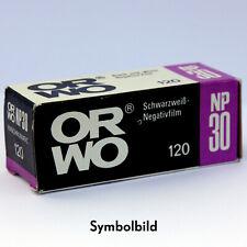 ORWO NP30 Film • ISO 800 • 120 Film • b/w negative • VERY RARE • Rollfilm