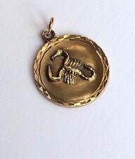 Anhänger Sternzeichen Skorpion Gold 333 Gelbgold 8K
