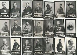 Ogdens Tabs, Leading Generals at the War, 28 cards