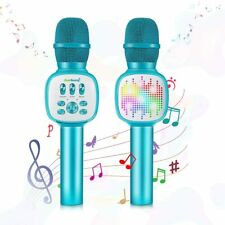 2020 ZealSound Led Bluetooth Karaoke Microphone for Kids Magic iOS Android Magic