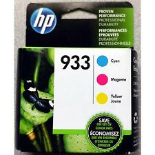 3-PACK HP GENUINE 933 Color Ink (RETAIL BOX) for the OFFICEJET 6600