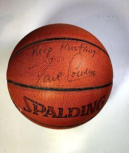 Dave Cowens Signed Basketball Autographed - RARE Inscription - Keep Hustling