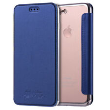 For iPhone 5 6S 7 8 X Plus Luxury Slim Book Leather + TPU Wallet Flip Cover Case