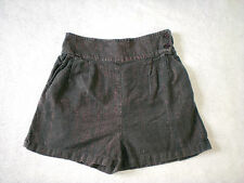 Kimchi Blue women Gray Metallic Casual shorts Adult *size Medium* Used Condition