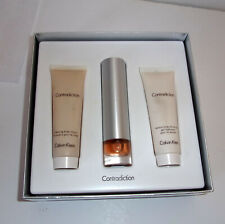 Contradiction Body Basics Eau De Parfum 1oz Set Calvin Klein