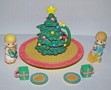 Precious Moments Christmas Tea Miniature Tea Set 384607A