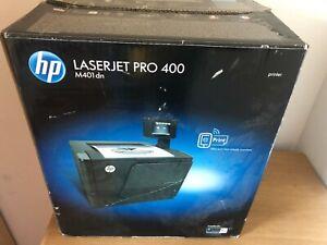 HP LaserJet 400 M401dn Duplex Mono Printer Includes Large Toner Page Count 32162