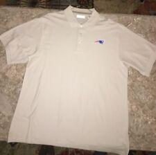 New England Patriots Logo Polo Shirt-Custom Made-100% Cotton-BRAND NEW-XL-NICE!