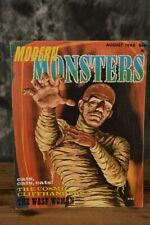 August 1966 Modern Monsters #3 Horror Magazine W/ Free Shipping