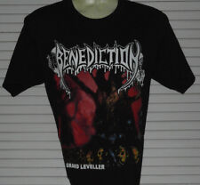 BENEDICTION The Grand Leveller BLACK T-SHIRT SIZE MEDIUM 100% COTTON YAZBEK BRAN