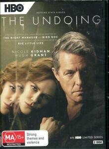 The Undoing DVD NEW Region 4 Nicole Kidman Hugh Grant