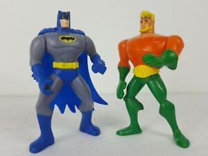 2010 DC Comics Batman & Aquaman McDonald's action figures Lot, happy meal toys